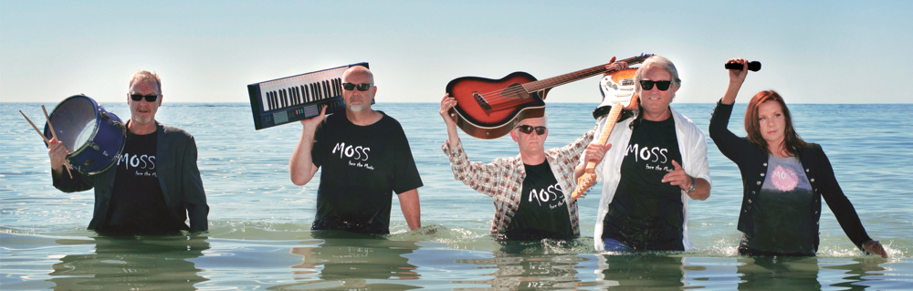 "MOSS FRINGE 2017 promotional shot ""Dares to wade in deep water"""