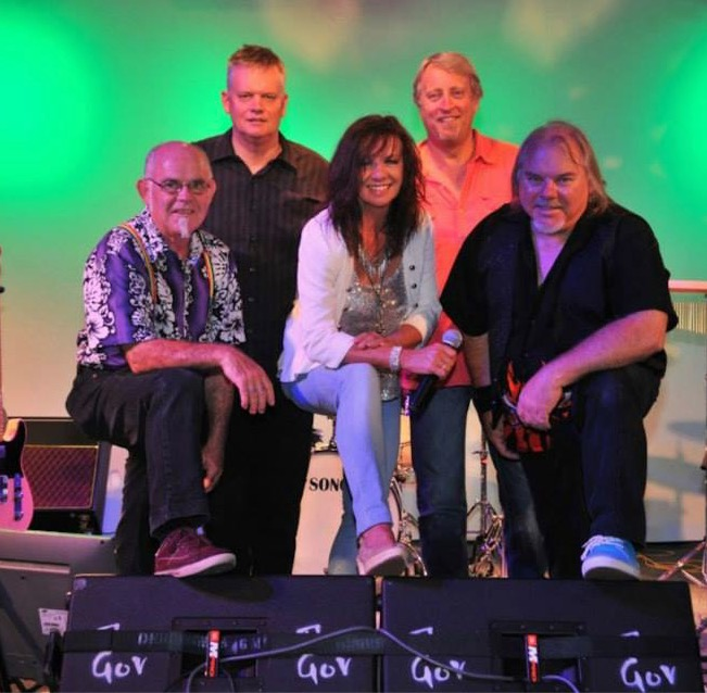 MOSS line-up: Left to Right: Peter Vawser, David White, Suzie Craig, Mark Simpkin, Mick Paprzycki