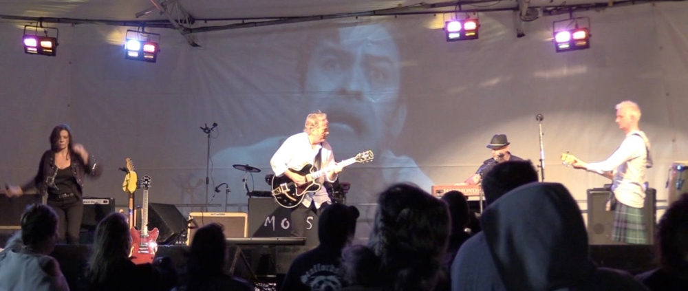 MOSS performing at RIVERSTOCK 2016 Music Festival November 12, 2016